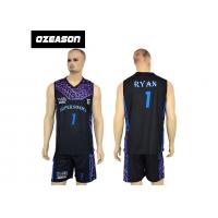Quality High Quality Sublimation Printing Reversible Training Basketball Uniform For Boys wholesale