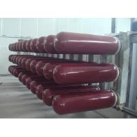 Quality OD 279 - 356 MM NGV Gas Tank with 250 Bar Working Pressure 30L - 150L Capacity ISO9809 wholesale