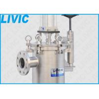 Low Running Cost Self Cleaning Filter 316L Piston Material For Metal Coatings Filtration