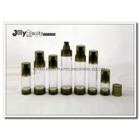 Quality Bottle Diameter 33mm Airless Pump Bottles For Cosmetics WITH Capacity 15ml Bottle Height 92mm wholesale
