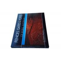 A4 Perfect Binding Book Printing Print On Demand Services Gloss Lamination