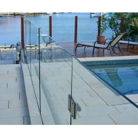 8mm tempered glass frameless fencing panel for swimming pool