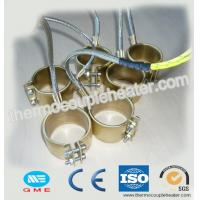Quality Brass Nozzle Coil Heaters Extruder Band Mica Heater With Stainless Steel Braided Wire wholesale