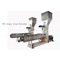 Quality custom PVC Single Screw Extruder neader Hot Cutting Pelletizing System wholesale
