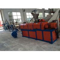 Quality EVA TPE Shoe Sole Material Single Screw Extruder Plastic Pelletizing Line wholesale