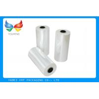 Quality 78% Shrinkage 40MIC Clear PET Plastic Shrink Film For Shrink Sleeve Labels Material wholesale