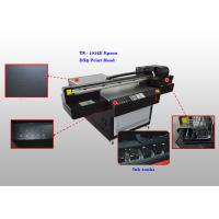 Buy cheap Four Color Flatbed UV Leather Ultraviolet Printer , Automatic Leather Printing Machine from wholesalers