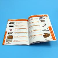 Quality Paper / Paperboard Perfect Binding Catalogue Printing Service Customized A4 / A3 / A5 wholesale