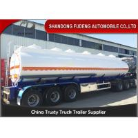 Buy cheap 9000 Gallon Fuel Tanker Semi Trailer Optional Dimension High Strength Steel Material from wholesalers