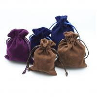 Fashion Large Drawstring Jewelry Pouch Crystal Sheer Fabric For Promotional Packaging