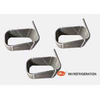 Buy cheap Stainless Steel Counterflow Chiller Tube Heat Exchanger / Twisted Coil Type Evaporator from wholesalers