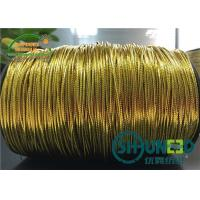 Buy cheap Polyester Cotton Mixed Gold and Silver Elastic String Cord Thread from wholesalers