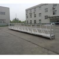 Quality Building Cleaning Suspended Working Platform Zlp800 With 800kg Rated Load wholesale