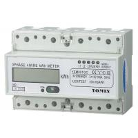 Buy cheap RS485 Modbus Three Phase Energy Meters ,  Electronic kWH Meter With CT operated from wholesalers