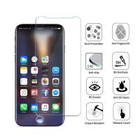 Quality Anti Shatter 9H iPhone Tempered Glass Screen Protector 2.5D Round Angle wholesale