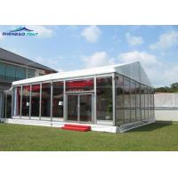 Buy cheap 20 * 25m Outdoor Event Marquee Tent With PVC Sidewalls For 500 People from wholesalers