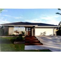 Quality Prefabricated Light Steel Prefab Bungalow Homes / Bungalow House For Living wholesale