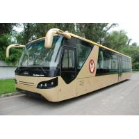 Quality Comfortable Diesel Engine 13 Seater Airport Apron Bus With Aluminum Apron wholesale