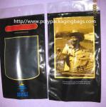 Quality Six Cigar Plastic Bags / Cigar Ziplock Bags OPP PE Laminated Material wholesale