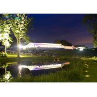 Buy cheap Large White Outdoor Wedding Reception Tent / Garden Party Marquee from wholesalers