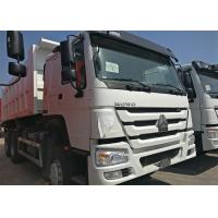 Quality HOWO Heavy Dump Truck 371HP Engine Power 3 Axles 6x4 Driving Type wholesale
