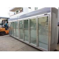 Buy cheap Heater Glass Door Commercial Beverage Cooler For Supermarket / Store Two Layers from wholesalers