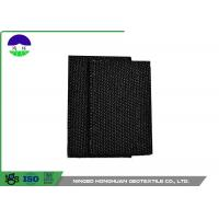 Quality Polypropylene Monofilament Woven Geotextile Fabric Black Color 100kn / 100kn wholesale