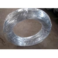 Buy cheap 0.9mm * 2kg Low Carbon High Tensigle Electric Galvanized Steel Wire Suitable For Iraq Market from wholesalers