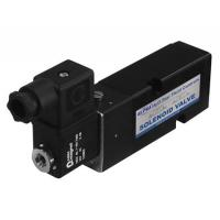 Quality Black Pneumatic Solenoid Valve 24vdc Short Lead Time With Plate Type wholesale
