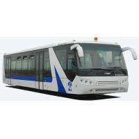 Quality White / Red / Blue 14 Seater Airport Apron Bus Right / Left Hand Drive Bus With PPG Painting wholesale