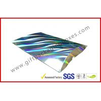 Quality Laser Silver Card board Packaging A4 B5 Document Card Board Packaging wholesale