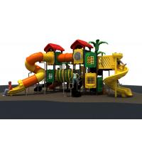 new designe nature colorful slide   and  funny outddoor playground equipment for kids