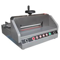 Quality 330mm Semi Electric Paper Cutter Machine E330D , Paper Cutting Equipment wholesale