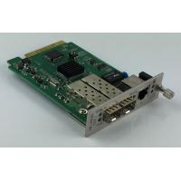 Remote Management 10G Media Converter  With 1 + 1 Fiber Optical Protection