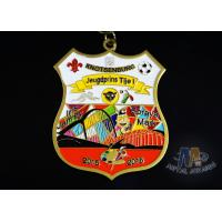 Quality Fashionable Design Enamel Medals 3d Medals 12 Colors And Gold Plating wholesale