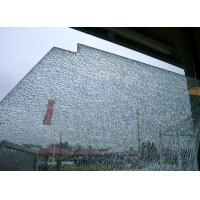 Cracked Ice Decorative Laminated Glass Panels With Nano Coating