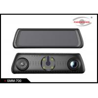 Buy cheap Full Hd Wifi Dual Car Camera Android Dvr Video Recorder / Gps Navigation Rearview Mirror from wholesalers