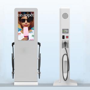 Quality 55 Inch Grey Advertising Digital Signage Car Charging Station DDW-AD5501SNOC wholesale