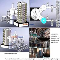 Cathodic Arc Vacuum Coating Machine on Stainless Steel Sheets / Pipes