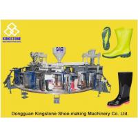 Quality Automatic Plastic Shoes Injection Molding Machine For Rain Boots / Gumboots wholesale