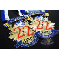 Quality Runing Race Sports Enamel Medals Cut Out Effect Sublimated Ribbon Both Size wholesale