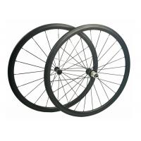 Cheap Anti High Temperature Carbon Road Cycling Wheels 9 / 10 / 11 Speed Compatible for sale