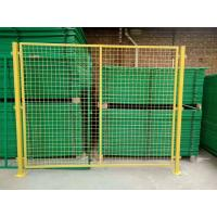 Buy cheap 50*100mm Hole Temporary Wire Mesh Fence For Guardrail , 1.8m - 2m Width from wholesalers