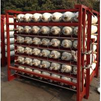 Quality OD 279mm CNG Storage Vessels Cylinder with CrMo Steel Material 25MPA Work Pressure wholesale
