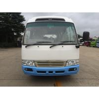 Quality Environmental Low Fuel Coaster Minibus New Luxury Tour Shuttle Bus With Gasoline Engine wholesale
