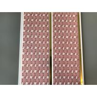 Quality Pink Color water resistant bathroom wall panels Polyvinyl Chloride Material wholesale