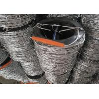Buy cheap Hot Dipped Galvanized Barbed Wire Corrosion Reistance for Agricultural Fencing from wholesalers