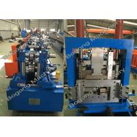 Quality Interchangeable C&Z Purlin Forming Machine , Purlin Roll Former High Capacity wholesale