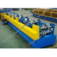 Cheap Steel C / Z Purlin Roll Forming Machine Automatic Type With PLC Display for sale