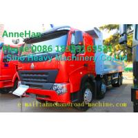 Quality A7 Heavy Duty Dump Truck 8x4 380hp EUROIII Front lift HYVA 169 Cylinder wholesale